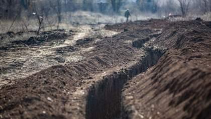 Не стреляют, но копают траншеи: оккупанты нарушают минские договоренности