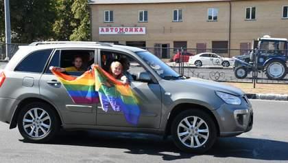 В Харькове впервые состоялся Автопрайд: фото