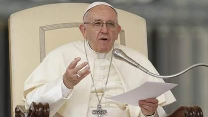 Прислушайтесь к голосу граждан: Папа Римский призвал власти уважать протестующих