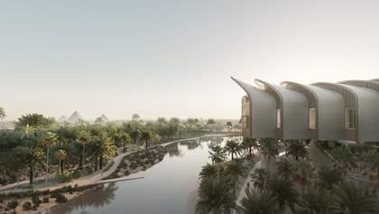 Поряд з пірамідами: в Єгипті зведуть величезний центр лікування хвороб серця – неймовірні фото