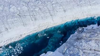 Гігантський шматок криги відколовся від Гренландії: приголомшливий вид із супутника