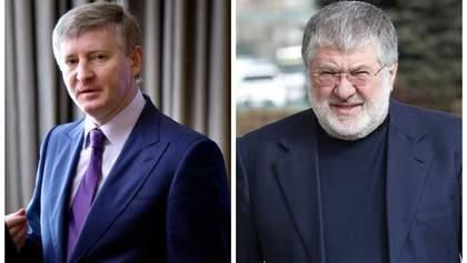 Порожняк для олигархов Ахметов и Коломойский больше не воюют
