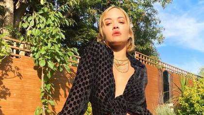 Ріта Ора на власному прикладі показала, як носити трендовий образ: фото