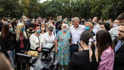Пальчевський все ж йде в мери, визначитися допомогли виборці