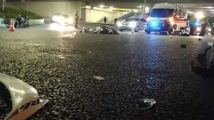 Жуткое ДТП с тремя погибшими произошло в Киеве на проспекте Гузара: фото и видео 18+