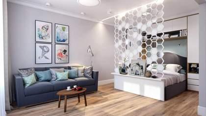 Как зонировать квартиру: виды перегородок и интересные примеры