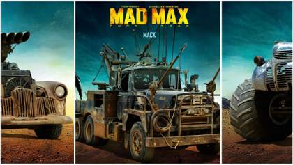 """Мощные автомобили из фильма """"Безумный Макс"""": на чем ездили главные герои"""