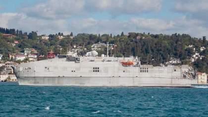 Американское десантное судно Yuma вошло в Черное море: фото