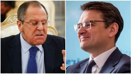 """Кулеба разгромил заявление Лаврова о минских соглашениях, которые """"не выполнят при Зеленском"""""""