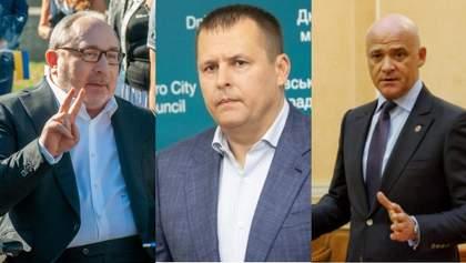 Політичне Ватерлоо: цікаві факти про запеклу боротьбу скандальних мерів на місцевих виборах