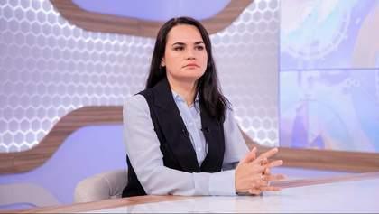 Тихановська про заяви Лукашенка і закриття кордонів: Це новий рівень відриву від реальності