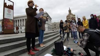 Чествование Гонгадзе: в Киеве состоялась акция памяти погибших журналистов – фото