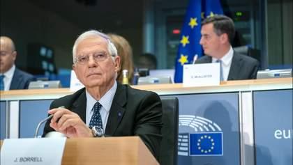 Голова дипломатії ЄС Жозеп Боррель вперше відвідає Україну