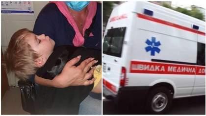 В Одессе мать жестоко избила сына на глазах у очевидцев: ребенка госпитализировали