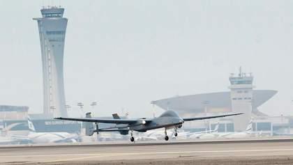 Вперше безпілотник здійснив посадку у міжнародному цивільному аеропорту: відео