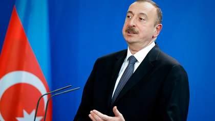 Вірменія готується до війни, – президент Азербайджану