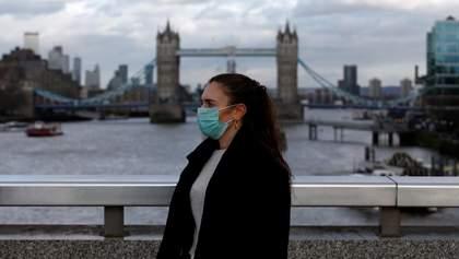 В Британии прогнозируют рост заболеваемости COVID-19 в 10 раз за месяц