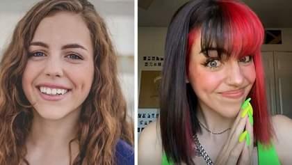 Девушка изменилась до неузнаваемости, как только съехала от родителей: кадры до и после