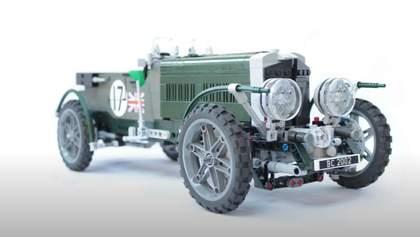 Фанати Bentley Blower зібрали легендарний ретрокар з кубиків Lego: вражаюче видовище