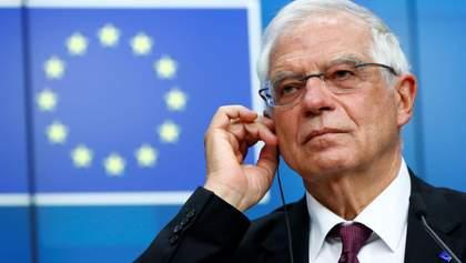 Главный дипломат ЕС впервые посетил Украину: политолог сказал, почему это важно