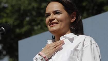 Тихановська про таємну інавгурацію Лукашенка: Сьогодні він просто пішов на пенсію