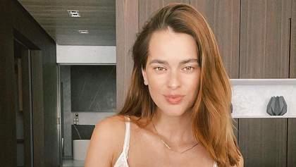 Мисс Украина Олеся Стефанко засветила тонкую талию через месяц после родов: фото в купальнике