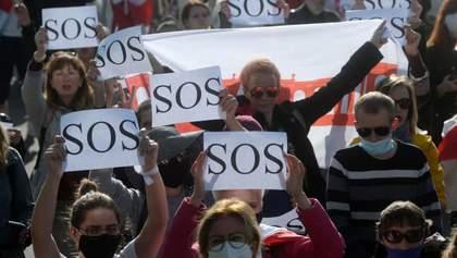 Протести не стихають: події у Білорусі 25 вересня – фото, відео