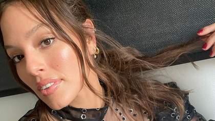 Ешлі Грем вперше після пологів вийшла на модний подіум: для якого бренду дефілювала зірка