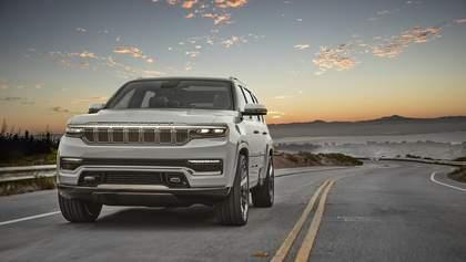 Jeep презентував концепт преміального позашляховика Grand Wagoneer: захопливі фото