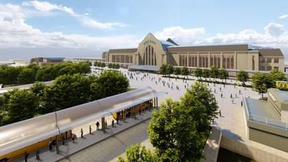 Не только во Львове: как может выглядеть обновленная Вокзальная площадь в Киеве – фото проекта