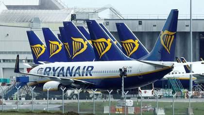 Неоплачувана відпустка для співробітників: Ryanair потребує підтримки влади