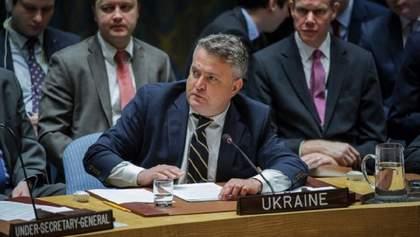 В ООН не зробили все можливе, аби запобігти окупації Криму, – Кислиця