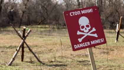"""Окупанти """"нашпиговують"""" Донбас забороненими мінами, – ОБСЄ"""