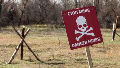 """Оккупанты """"нашпиговывают"""" Донбасс запрещенными минами, - ОБСЕ"""