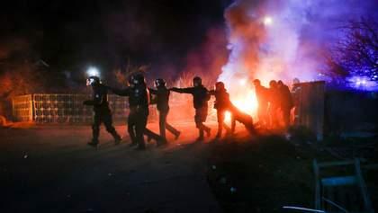 Столкновения в Новых Санжарах: суд наказал двух участников беспорядков
