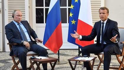 Макрон с Путиным побили горшки из-за Навального: детали скандального разговора