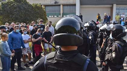 Столкновения возле Олимпийского колледжа в Киеве: в МОН отреагировали на ситуацию