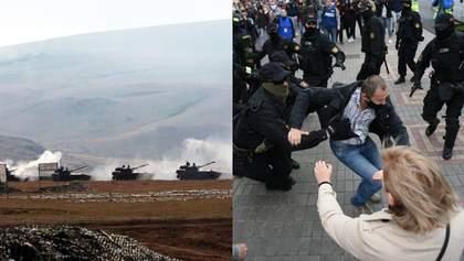 Головні новини 27 вересня: війна у Нагірному Карабасі та жорсткі затримання у Білорусі