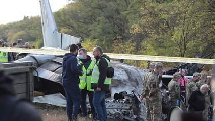 Авіакатастрофа біля Чугуєва: комісія з розслідування трагедії має подати звіт до 25 жовтня