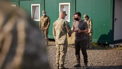Зеленський приїхав на Донеччину та відвідав військових: що відомо