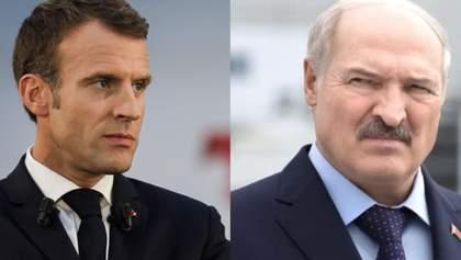 Лукашенко відповів Макрону на пропозицію добровільно піти