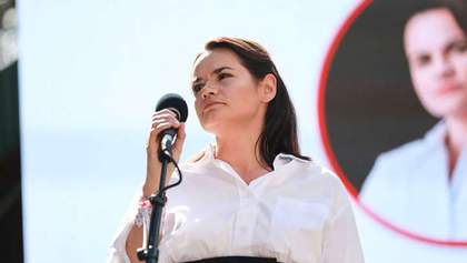 Здається, минуло ціле життя: Тихановська підтримала білорусів у 50-й день протестів