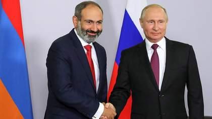 У Вірменії заявили, що не просили й не проситимуть допомоги Росії у війні