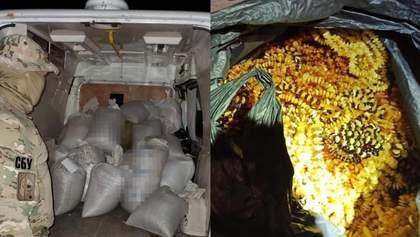 Бурштин на 4 мільйони: на Рівненщині викрили канал контрабанди до Азії – фото