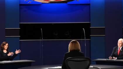 Камала Гарріс проти Майка Пенса: хто переміг у дебатах кандидатів у віцепрезиденти США