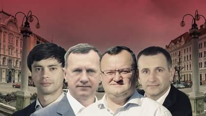 Ужгород и Черновцы: рейтинги партий и кандидатов в мэры