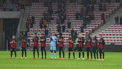 Теракт в Ніцці: на матч Ліги Європи місцева команда вийде з траурними пов'язками