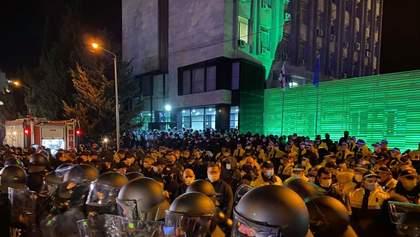 Опозиція у Грузії зупинила акцію протесту: що буде далі