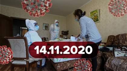 Новости о коронавирусе 14 ноября: рекорд больных в Украине и COVID-19 у Степанова