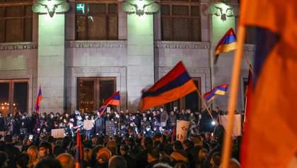 В Армении возобновились протесты: что происходит 16 ноября – фото, видео